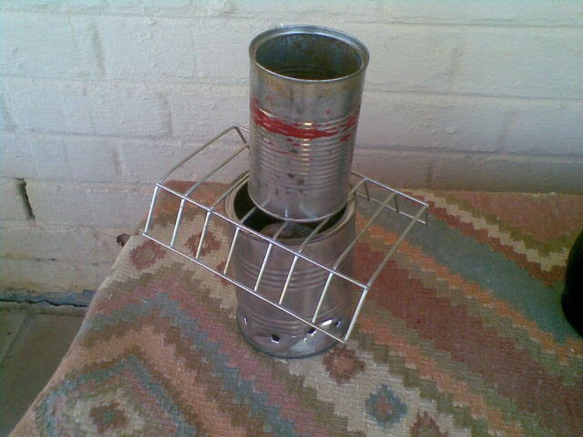Tin Can Stove